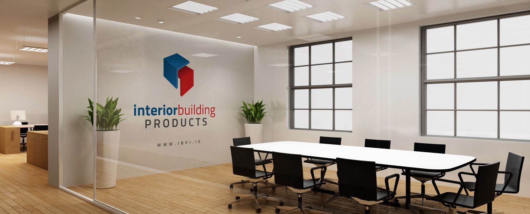 Interior Building Products - Meeting Room Mockup