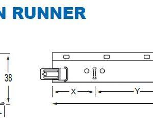 24mm Main Runner